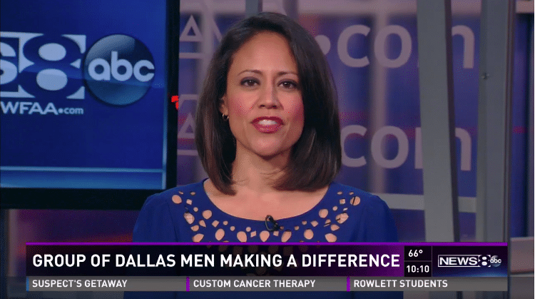 100 Men featured on WFAA